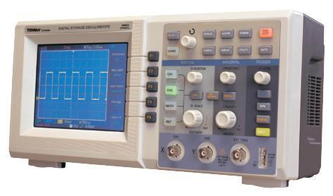 Tenma 2 Channel 40MHz Digital Storage Oscilloscope with USB, RS232 and LAN