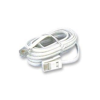Pro Signal BT Plug to RJ11 5M White C/Wired