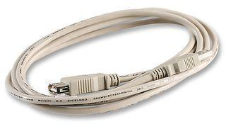 Pro Signal 2m White A Plug to A Socket USB 2.0 Extension Cable