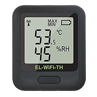 Lascar Wi-Fi Temperature and Humidity Data Logging Sensor with Display