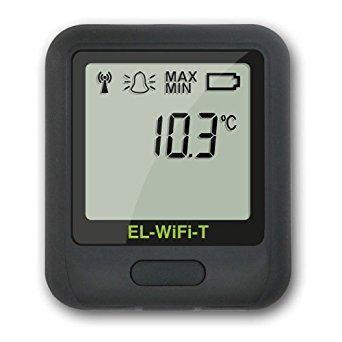 Lascar Datalogger, TEMP, -20 TO 60 DEG, WIFI