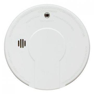 Kidde Smoke Alarm with Hush Button Battery Operated