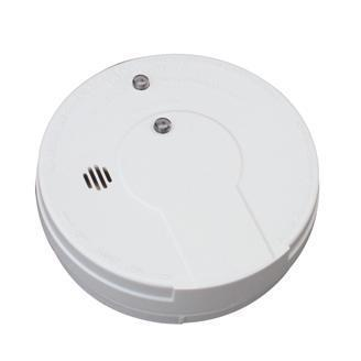 Kidde Smoke Alarm with Escape Light & Hush Button Battery Operated