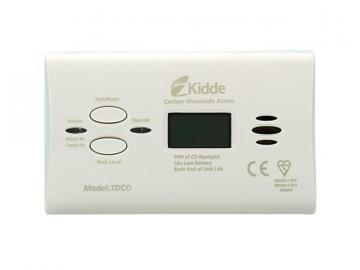 Kidde Carbon Monoxide Alarm with Digital Display, Battery Operated