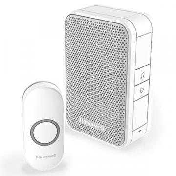 Honeywell Wireless Portable Door Bell Kit - 150m White
