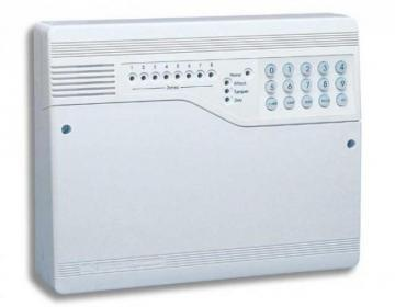 Honeywell Optima Compact Gen4 8-Zone Intruder Alarm Panel with On-Board Keypad