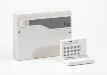 Honeywell Accenta Mini Gen4 8-Zone Intruder Alarm Panel with Remote LED Keypad