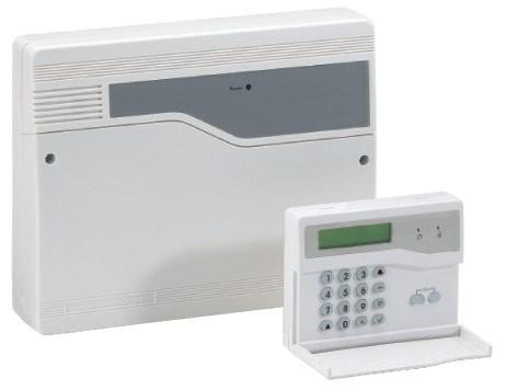 Honeywell Accenta Mini Gen4 8-Zone Intruder Alarm Panel with Remote LCD Keypad