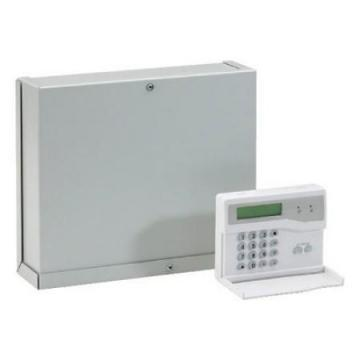 Honeywell Accenta Metal Gen4 8-Zone Intruder Alarm Panel with Remote LED Keypad