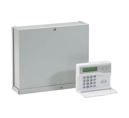 Honeywell Accenta Metal Gen4 8-Zone Intruder Alarm Panel with Remote LCD Keypad