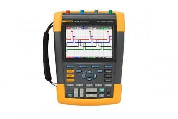 Fluke Scopemeter, 2CH, 60MHZ, Color Oscilloscope