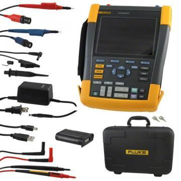 Fluke Scopemeter, 2CH, 100MHZ, Color Oscilloscope