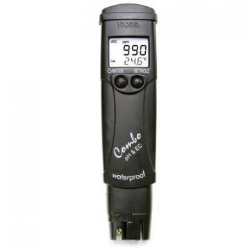 Hanna Waterproof Conductivity Tester Featuring a Hold Functio