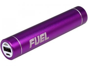 Patriot Fuel Active Portable Charger with LED Flashlight - Purple