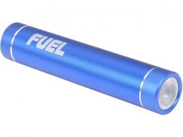 Patriot Fuel Active Portable Charger with LED Flashlight - Blue