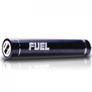 Patriot Fuel Active Portable Charger with LED Flashlight - Black