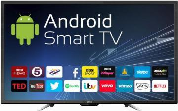 "Cello 50"" 4K Ultra-HD Smart LED TV Freeview HD"
