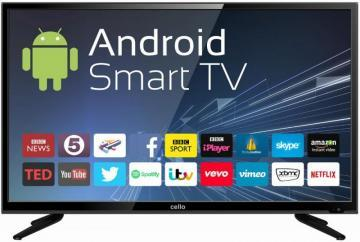 "Cello 40"" Smart LED TV 1080p HD Freeview HD"