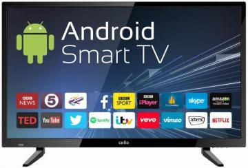 "Cello 32"" Smart LED TV HD Ready Freeview HD"