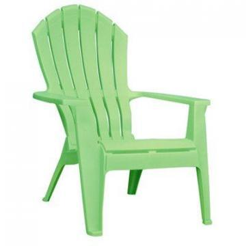 Adams RealComfort Adirondack Chair, Ergonomic, Summer Green