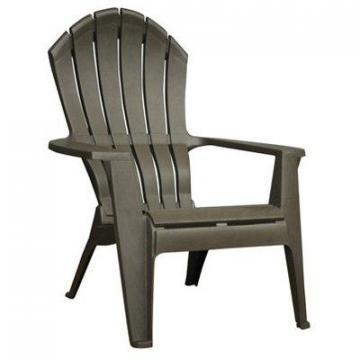 Adams RealComfort Adirondack Chair, Ergonomic, Earth Brown