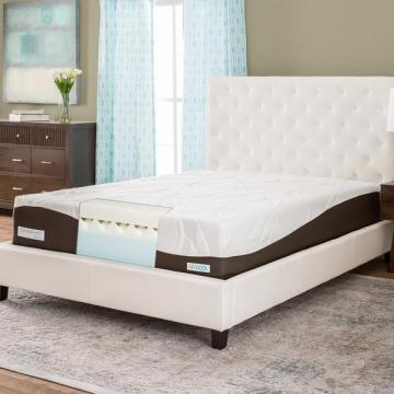 "Simmons ComforPedic 12"" King-size Memory Foam Mattress"