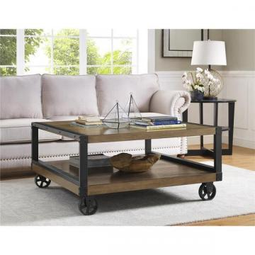 Ameriwood Home Wade Wood Veneer Coffee Table