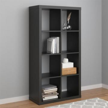 Ameriwood Home Parsons Black Hollow Core 8 Cube