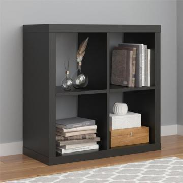 Ameriwood Home Parsons Black Hollow Core 4 Cube