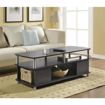 Ameriwood Home Carson Espresso Coffee Table