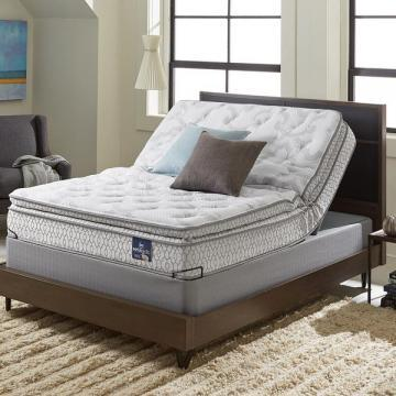 Serta Extravagant Plush Pillowtop Queen-size Mattress Set