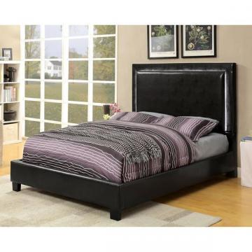 Furniture of America Winona Contemporary LED Light Trim Espresso Platform Bed
