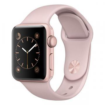 Apple Watch Series 2 38mm Rose Gold Case with Pink Sport Strap