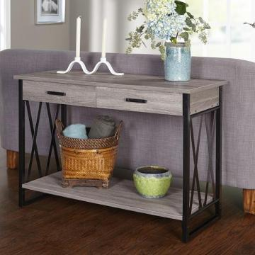Simple Living Seneca XX Reclaimed Look Sofa Table