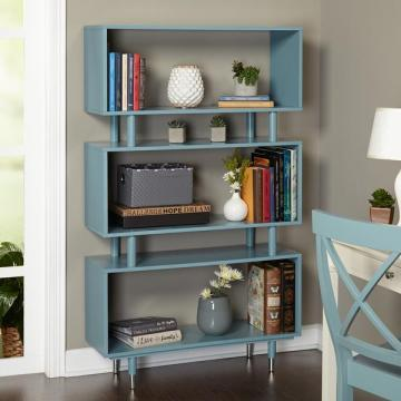 Simple Living Margo Mid Century Bookshelf