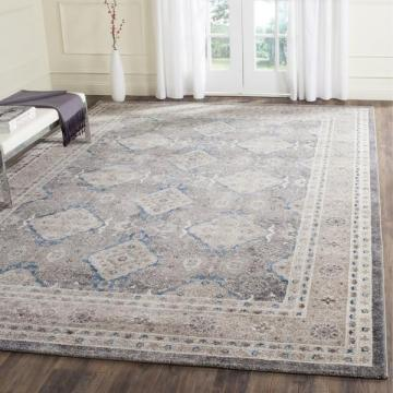 Safavieh Sofia Light Grey / Beige Area Rug (10' x 14')