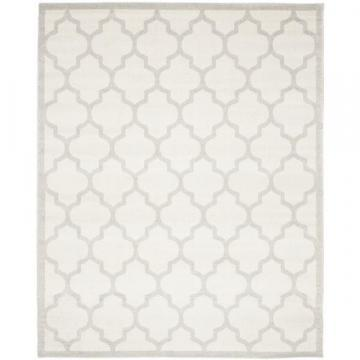 Safavieh Indoor/ Outdoor Amherst Beige/ Light Grey Rug (12' x 18')