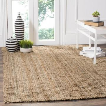 Safavieh Casual Natural Fiber Hand-Woven Natural Thick Jute Rug (9' x 12')