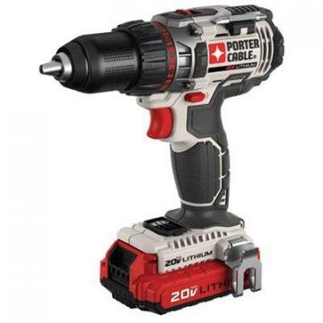 Porter-Cable Drill/Driver Kit, 20V, Lithium-Ion, 1/2""