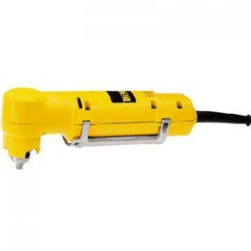 DeWalt Right-Angle Drill, With Paddle Switch, 3.7-Amp, 0-1,200 RPM, 3/8""