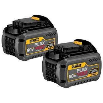 DeWalt Flex Volt Lithium-Ion Batteries, 20/60V, 2pk