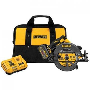 DeWalt Flex Volt Circular Saw, 60V Lithium-Ion Battery, 7.25""