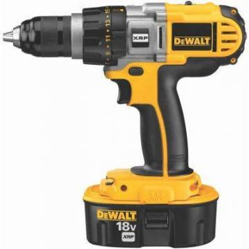 "DeWalt Cordless Drill/Driver, 1/2"", 18V XRP, 3-Speed, LED Worklight"