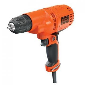 Black & Decker Variable-Speed Drill with 3/8-Inch Chuck
