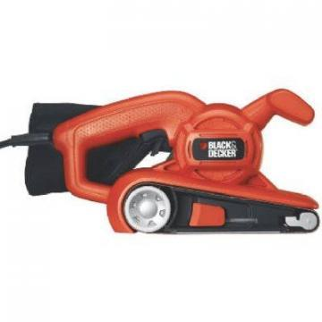 Black & Decker Belt Sander, Low-Profile, 6-Amp, 3 x 18""
