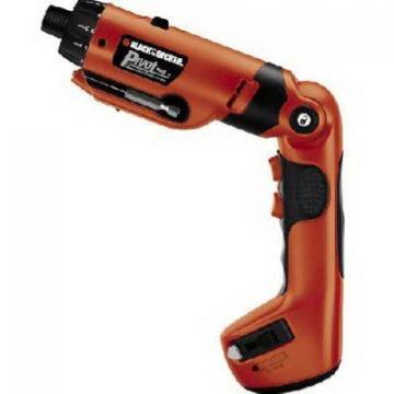 Black & Decker 6V Cordless Screwdriver with Tape Measure