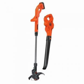 Black & Decker MAX Cordless String Trimmer/Edger + Hard Surface Blower Combo