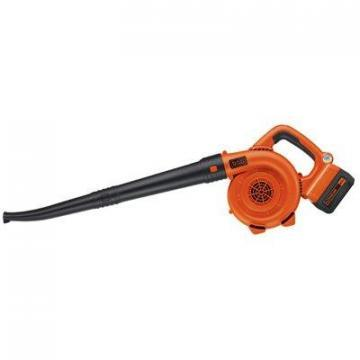 Black & Decker Cordless Sweeper/Blower, 120 MPH, 40V Lithium