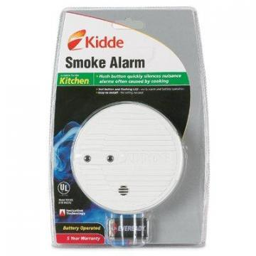 Kidde Premium Smoke Alarm with Hush & Test Button