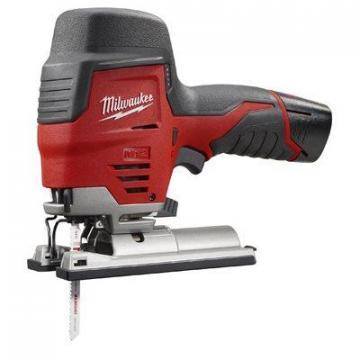 Milwaukee Tool M12 Cordless Jig Saw, High-Performance, Variable-Speed